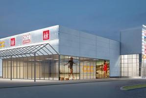 új üzletközpontok